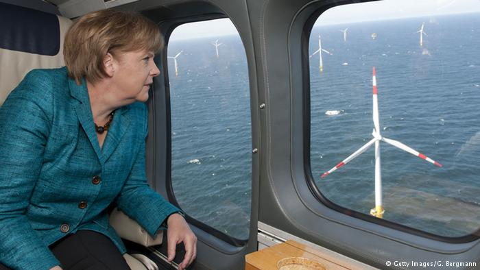 Merkel and the offshore wind farm
